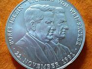 """38,35 Gramm Silbermedaille """"Ein Herz für Kinder in Russland"""" 22.11.1991 Jelzin und Weizsäcker - Mannheim"""