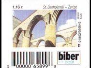 """Biberpost: MiNr. 22, """"Sehenswürdigkeiten (II): Zerbst, St. Bartholomäi"""", Wert zu 1,16 EUR, postfrisch - Brandenburg (Havel)"""