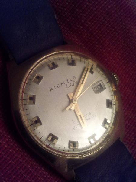 Vintage Uhr 1970's KIENZLE LIFE - Nürnberg