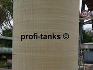 P213 gebrauchter 30.000 L Polyestertank GFK Speidel-Tank Flachbodentank Lagertank Wassertank Regenauffangtank Zisterne Futtermitteltank Rapsöltank - Nordhorn