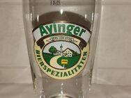 Ayinger Ansicht Brauerei Bier Glas München - Nürnberg