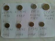 8 Münzen Spanien Pesetas - Hagen (Stadt der FernUniversität) Dahl