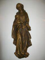 Madonna mit Kind aus Polyresin
