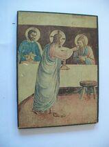 Heiligenbild Jesus, Abendmahl