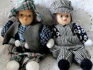2 hübsche kleine Püppchen, sehr dekorativ und liebevoll gearbeitet - neuer Preis!!! - Niederfischbach