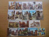 17 Ansichtskarten von Rothenburg ob der Tauber - Krefeld