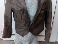 Leder-Designer-Jacke, Einzelstück, Messe-Vorführ-Modell, Gr. 50 - Simbach (Inn)