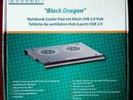 "Notebook Cooler Pad Xystec "" Black Dragon"" - Niederfischbach"