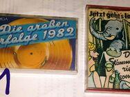 6 Cassetten von Amiga Original Bespielte - Zerbst (Anhalt) Zentrum