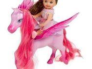 Kleine Barbie Shelly mit Pegasus - Neuenkirchen (Nordrhein-Westfalen)