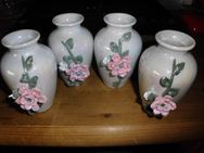 Blumenvasen aus Porzellan, 4 Stk. - Merkelbach
