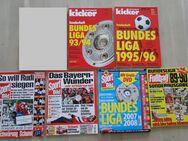 Fußball Bundesliga Sonderhefte Kicker Sportbild 6 Hefte - Coesfeld