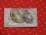 Thurn&Taxis,1+3 Kreuzer 1859-61,Mi.Nr.,20,21  Lot 155
