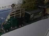 PeterbiltUS Truck mit EisenbahnwaggonOberweißbacher Berg und Schwarzatalbahn Modell H0 WATZDORFER - Nürnberg