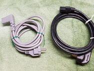 Anschluss Kaltgeräte Kabel | Kaltgerätestecker auf 230V Stecker - Leverkusen
