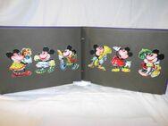 135 antike Oblaten / Lackbilder / Glanzbilder 1920 in Poesiealbum / Mickey Mouse - Zeuthen