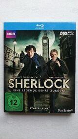 Sherlock - Staffel 1 (Blu-Ray) mit Benedict Cumberbatch