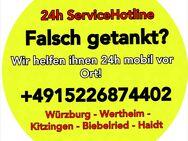 Falsch getankt in Würzburg? 24h Mobiler Abpumpservice rufen Sie uns einfach unter +4915226874402 an, wir helfen Ihnen sofort vor Ort! - Nürnberg
