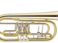 V. F. Cerveny Basstrompete in B, große Bauform mit Tonausgleich, NEUWARE - Hagenburg