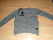 Pullover von Angelo Litrico, grau mit Motiv, Gr. 56 - Bad Harzburg
