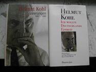 Helmut Kohl : Erinnerungen 1982-1990+Ich wollte Deutschlands Einheit. Droemer+Propyläen Hardcover 2 Bücher zus. 8,- - Flensburg