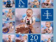 Cake Smash 1 Geburtstag Fotoshooting Fotograf Kinderfotograf - Wuppertal