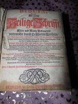 Biblia Leipzig 1705 mit Vorrede Gottl. Friedr. Seligmanns / Heilige Schrift