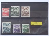 SLOWAKEI Luftpost 1949,Mi.Nr. 48x-53x,Lot 33