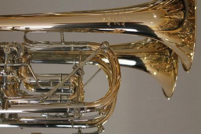 Meister J. Scherzer Profiklasse Konzert - Trompete 8218W-L mit Überblasklappe und 4 Mundrohren, Neu - Hagenburg