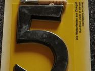 Hausnummer 5,schwarz,mittelgross - Ulmen