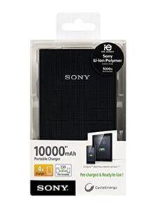 Powerbank Sony CP-V10B Portable Charger (10000 mAh) schwarz - Neuenkirchen (Nordrhein-Westfalen)