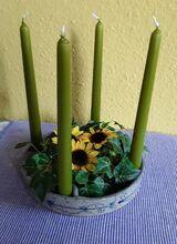 Keramik-Kerzenschale aus Nordfriesland