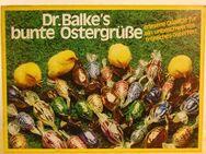 70er Jahre Werbeaufsteller aus Pappe / Dr. Balkes bunte Ostergrüße - Zeuthen