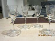 Bleikristall verschiedene Schalen,Vasen,Platten und Gläser - Stuttgart