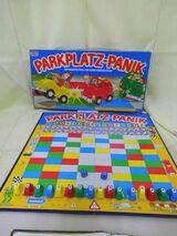 Brettspiel Parkplatzpanik Parker / Gesellschaftsspiel um 1980 / Spielnachmittag