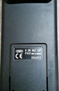Audi Autotelefonladeschale 8 DO 862 407 original Ladestation - Verden (Aller)
