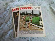 DDR Zeitschrift PRACTIC Heft 1/89 + 2/89 / Selbstbautechnik / Basteln + Bauen - Zeuthen