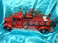 Nostalgie Blech Auto, Blechmodell Feuerwehr 50 cm / Oldtimer, Geschenkidee NEU - Zeuthen