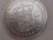 2 1/2 Gulden 1929 Niederlande,Wilhelmina  720er Silber,Lot 848 - Reinheim