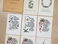 8 Religiöse Postkarten Verlag der St.-Johannis-Druckerei um 1950 - Bremen