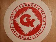 Getränkekombinat GK Karl Marx Stadt  Bierdeckel BD - Nürnberg