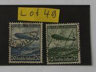 Deutsches Reich Flugpost Hindenburg 1938Mi.Nr.606,607,Lot 49