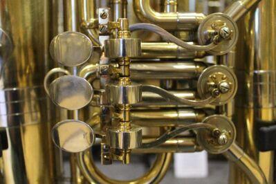 Große Weltklang (B&S) Es - Tuba - Made in Germany - Hagenburg