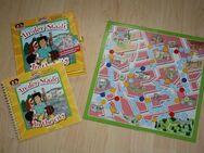 Spielend Englisch lernen Lisa und Erik in der Stadt Lernspiel Brettspiel Lernbuch Übungsbuch In the city NEU - Sonneberg