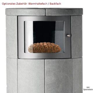 Lotus M3 Speckstein Wärmespeicher-Kaminofen 6 kW opt Backfach - Hamburg Wandsbek