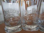 Jim Bean Whiskey Gläser 4 Stück (Sammlergläser - Weichs