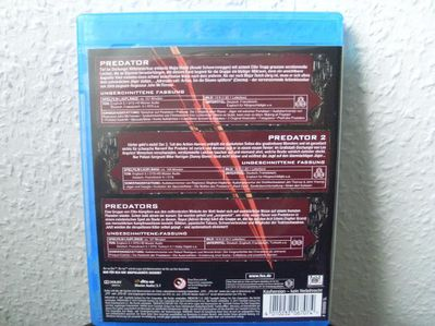 Predator Collection - Uncut Blu-ray NEU DTS Arnold Schwarzenegger,Carl Weathers - Kassel