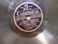 Columbia Schellackplatte, Jacqueline Moreau + Orchestre / Le premier Rendez-Vous - Zeuthen