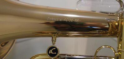A. Courtois Paris Profiklasse Flügelhorn mit riesigem 195 mm Schallbecher - Hagenburg