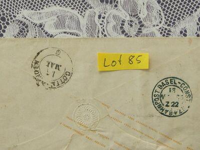 Baden 3 Kreuzer Ganzsachen  Briefumschlag 1865,Lot 85 -